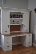 Custom Built Library and Bookcases Cabinetry, Cabinets, Cabinet Design - NH, MA & ME