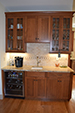 Coffee Wine Bar Custom Home Builder - LeClair Builders, New Boston, NH