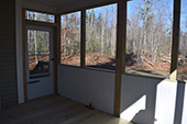screened porch Custom Home Builder - LeClair Builders, New Boston, NH